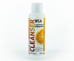 Жидкость для снятия липкого слоя Nila 100мл апельсин