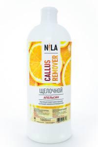 Nila callus remover апельсин 1л щелочное средство для удаления огрубевшей кожи ног