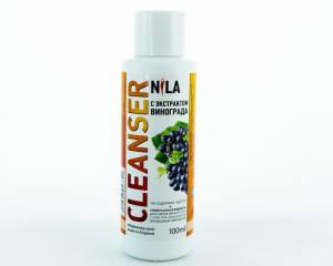 Жидкость для снятия липкого слоя Nila 100мл виноград