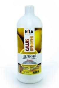 Nila callus remover лимон 1л щелочное средство для удаления огрубевшей кожи ног