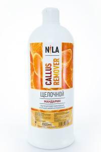 Nila callus remover мандарин 1л щелочное средство для удаления огрубевшей кожи ног