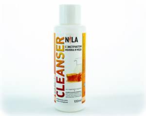 Жидкость для снятия липкого слоя Nila 100мл молоко и мед