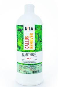 Nila callus remover мята 1л с щелочное средство для удаления огрубевшей кожи ног