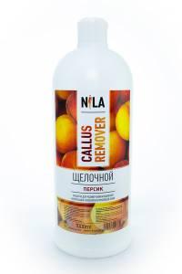 Nila callus remover персик 1л щелочное средство для удаления огрубевшей кожи ног