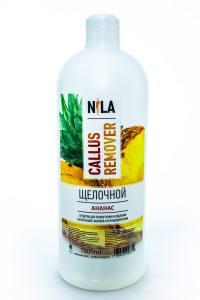 Nila callus remover  ананас 1л щелочное средство для удаления огрубевшей кожи ног
