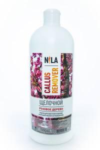Nila callus remover  розовое дерево 1л щелочное средство для удаления огрубевшей кожи ног