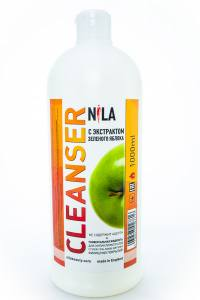 Жидкость для снятия липкого слоя Nila 1 л яблоко