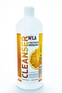 Жидкость для снятия липкого слоя Nila 1л апельсин