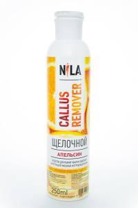 Nila callus remover  апельсин 250мл щелочное средство для удаления огрубевшей кожи ног