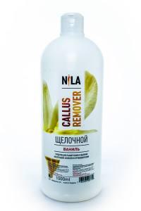 Nila callus remover  ваниль 1л щелочное средство для удаления огрубевшей кожи ног