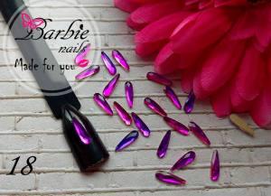 Стразы фигурные стекло BarbieNails 1шт №18