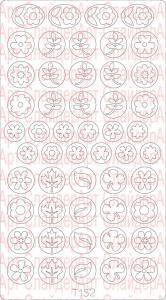 Трафарет для deep дизайна №152