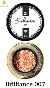 Гель-лак F.O.X Brilliance в баночке 5г №7 Медное золото