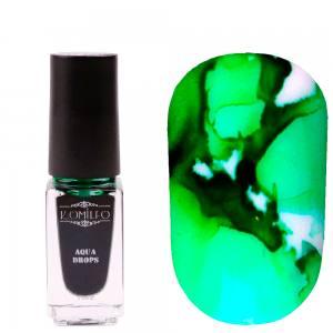 Акварельные капли 5мл Komilfo Aqua Drops Green №010 Зеленые