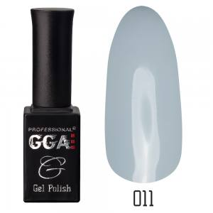 Гель лак GGA Professional 10 мл №11 грязно-голубой