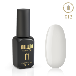 База камуфляж Milano 12ml Cover Rubber Base Gel №12