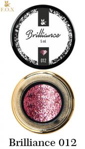 Гель-лак F.O.X Brilliance в баночке 5г №12 розовый