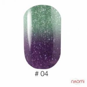 Гель-лак Naomi Thermo Collection 04, 6 мл