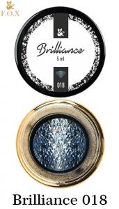Гель-лак F.O.X Brilliance в баночке 5г №18 нежно голубой
