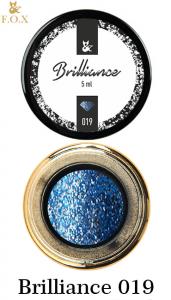 Гель-лак F.O.X Brilliance в баночке 5г №19 синий