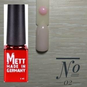 База френч Mett 6мл №02 светло-розовая