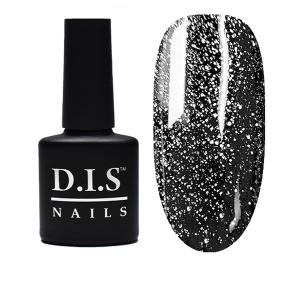 Топ с серебряным шиммером D.I.S Nails Universal Top Shimmer № 02 8.5мл