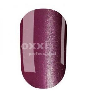 """Гель лак Oxxi """"Кошачий глаз"""" №025 (темный фиолетово-лиловый, магнитный)"""