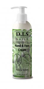 Крем для рук и ног D.I.S. 250мл Молоко и мед