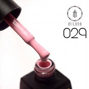 Гель лак MILANO 8мл 029 розово-персиковый