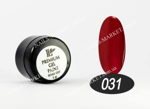 Гель-краска Beauty nail №31 бордово-коричневая