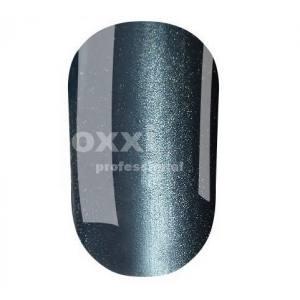"""Гель лак Oxxi """"Кошачий глаз"""" №033(темный голубо-серый, магнитный)"""