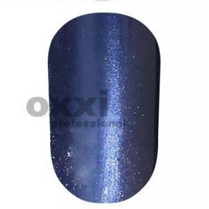"""Гель лак Oxxi """"Кошачий глаз"""" №034(сине-фиолетовый, магнитный)"""