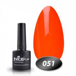 Гель-лак Nice 8.5g №51 морковно-коралловый