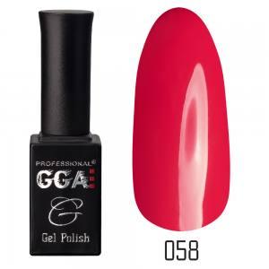 Гель лак GGA Professional 10 мл №58