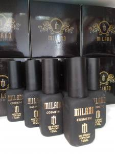 Топ для гель-лака без липкого слоя MILANO Top No Sticky 12ml.