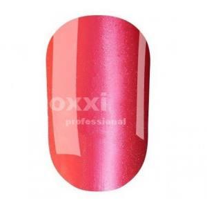 """Гель лак Oxxi """"Кошачий глаз"""" №082(красно-розовый, магнитный)"""