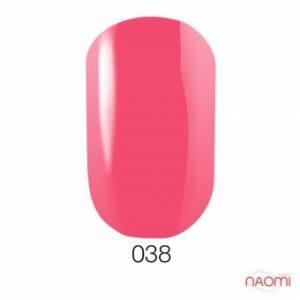 Гель-лак GO 038, 5.8 мл теплый розовый, эмалевый.