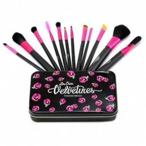 Набор кистей Lime Crime Velvetines в контейнере 12 шт