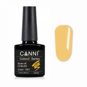 Гель-лак CANNI Colorit 1001 солнечно-желтый, 7,3 ml