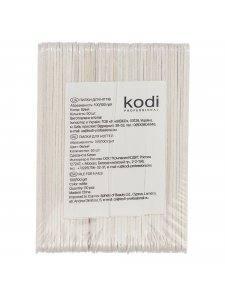 Набор пилок для ногтей Kodi  100/100, цвет: белый (50шт/уп)