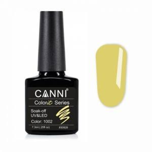 Гель-лак CANNI Colorit 1002 канареечный, 7,3 ml