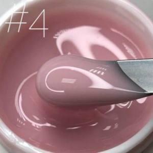 Гель для наращивания Saga veil №04 холодный розовый 15г