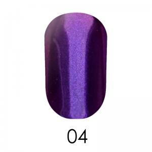 Зеркальная пудра Adore 1 г №4 фиолетовый с розовым отливом