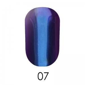 Зеркальная пудра Adore 1 г №7  глубокий синий с фиолетовым отливом