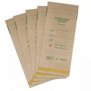Крафт пакеты для стерилизации размер 100 х 250