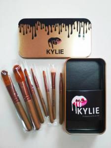 Набор профессиональных кисточек Kylie (Кайли) Professional Brush Set, золото