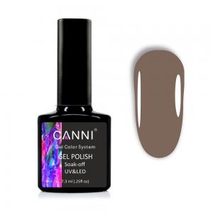 Гель-лак CANNI 1054 серо-коричневый, 7,3 ml