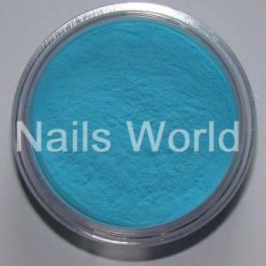 Акрил Nails World Color Acrylic Neon Blue, 2.5g Синий
