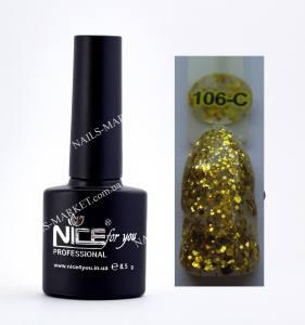 Гель-лак Nice серия cool C106