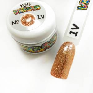 Ультраблестящий гель-лак VEGAS от Yo!Nails, цвет V1